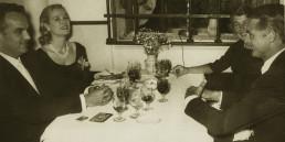 Grace Kelly & Rainiero Mónaco & gary Grant
